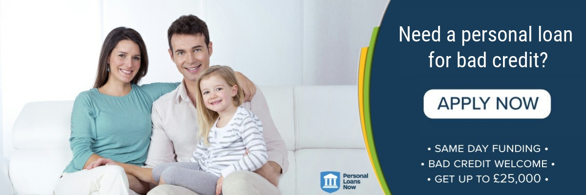 Apply now for a personal loan for bad credit - Personal Loans Now