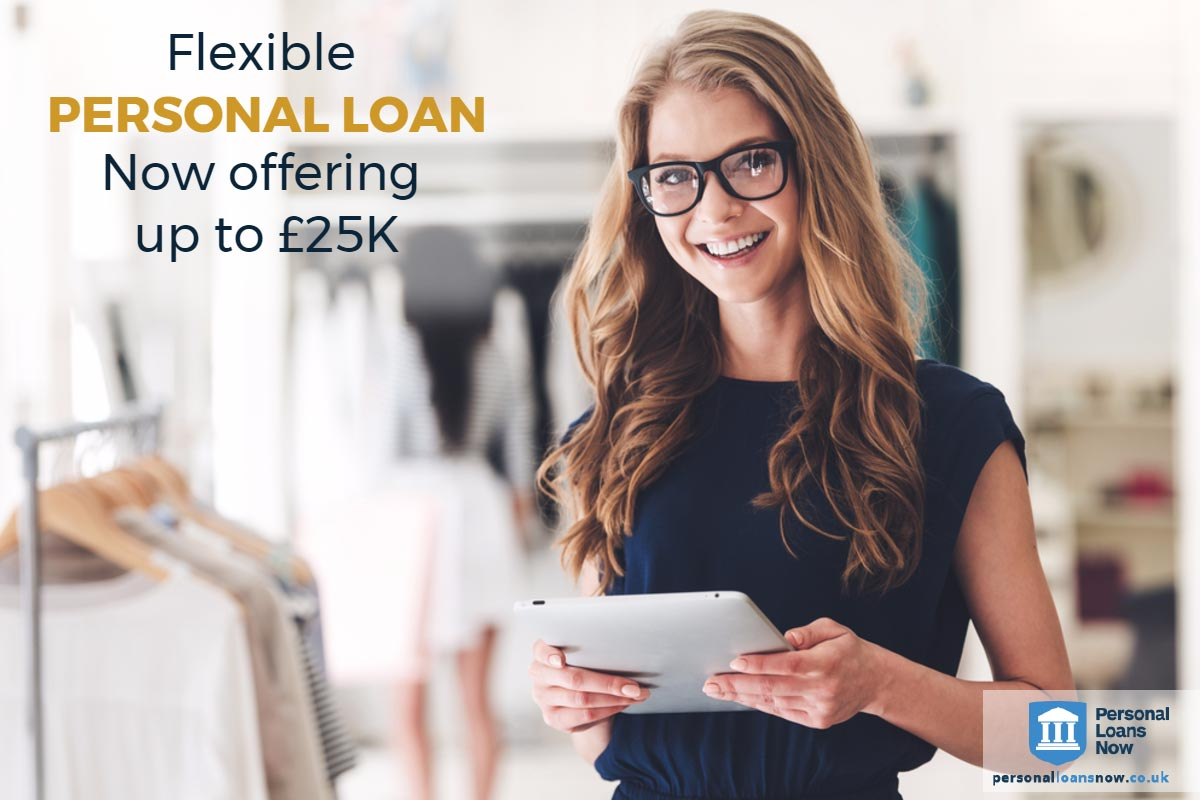 Flexible personal loans from Personal Loans Now
