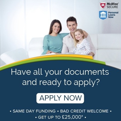 Apply for a personal loan from Personal Loans Now