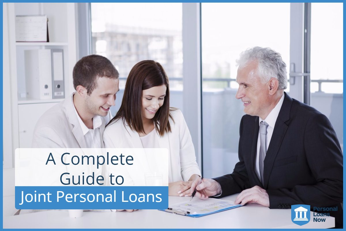 Couple signing on a Joint Personal Loan - Personal Loans Now