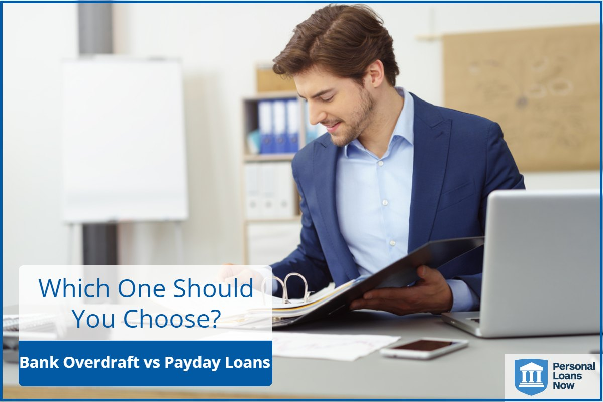 Personal Loans Now - Payday loans or bank overdrafts