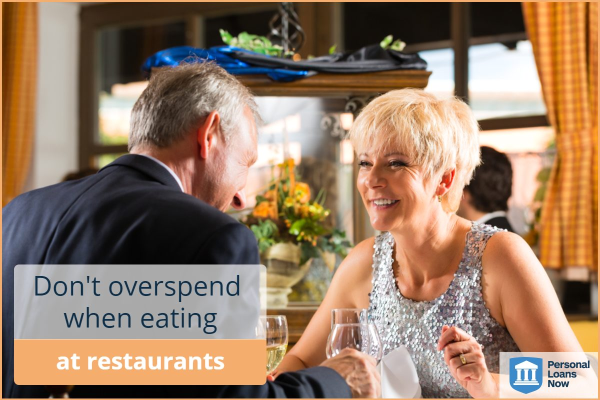 spend less money at restaurants - personal loans now