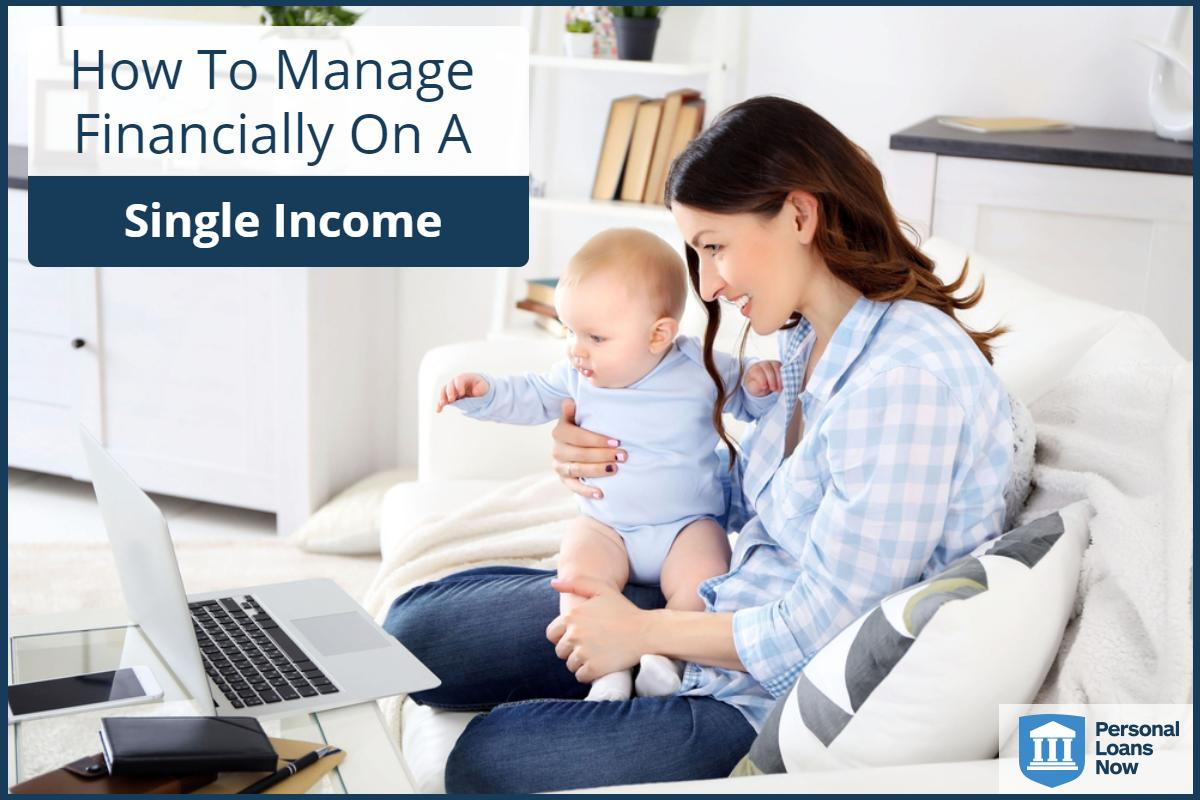 Personal Loan Now - How to live on one income