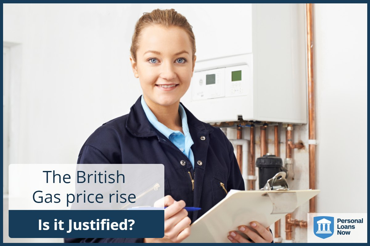 Personal Loans Now - British Gas price rise