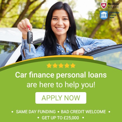 Car finance - Personal Loans Now