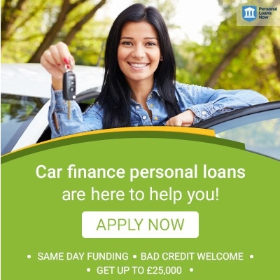 Apply now for a car finance personal loans form a responsible lender - Personal Loans Now