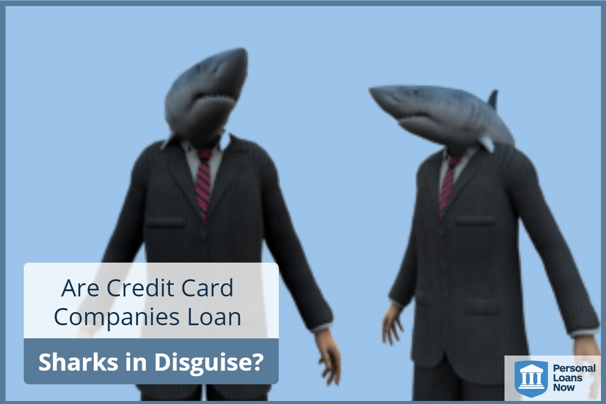 Sharks disguised as businessmen - Personal Loans