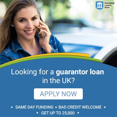Looking for a guarantor loan in the UK? Apply now with Personal Loans Now