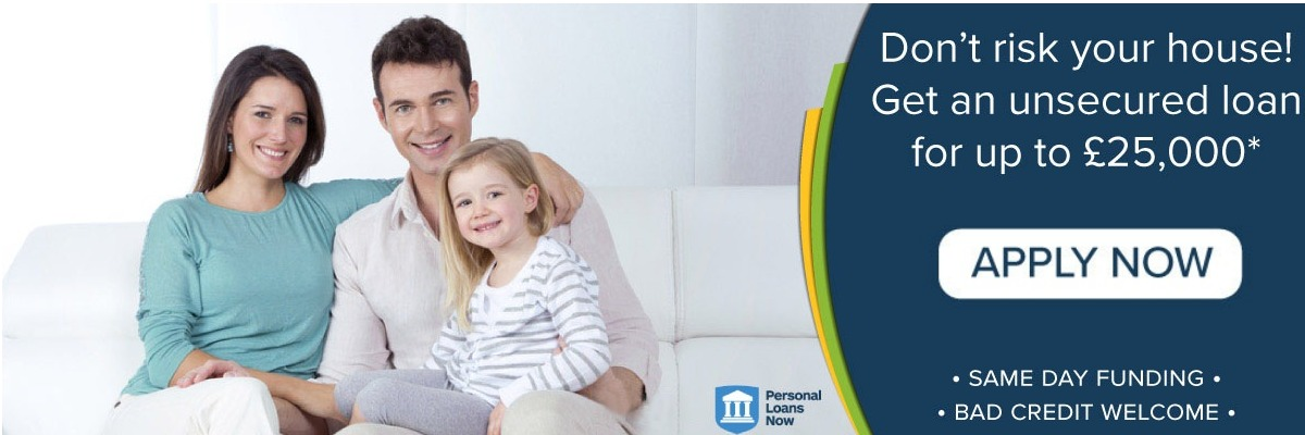 Apply now for an unsecured loan - Personal Loans Now