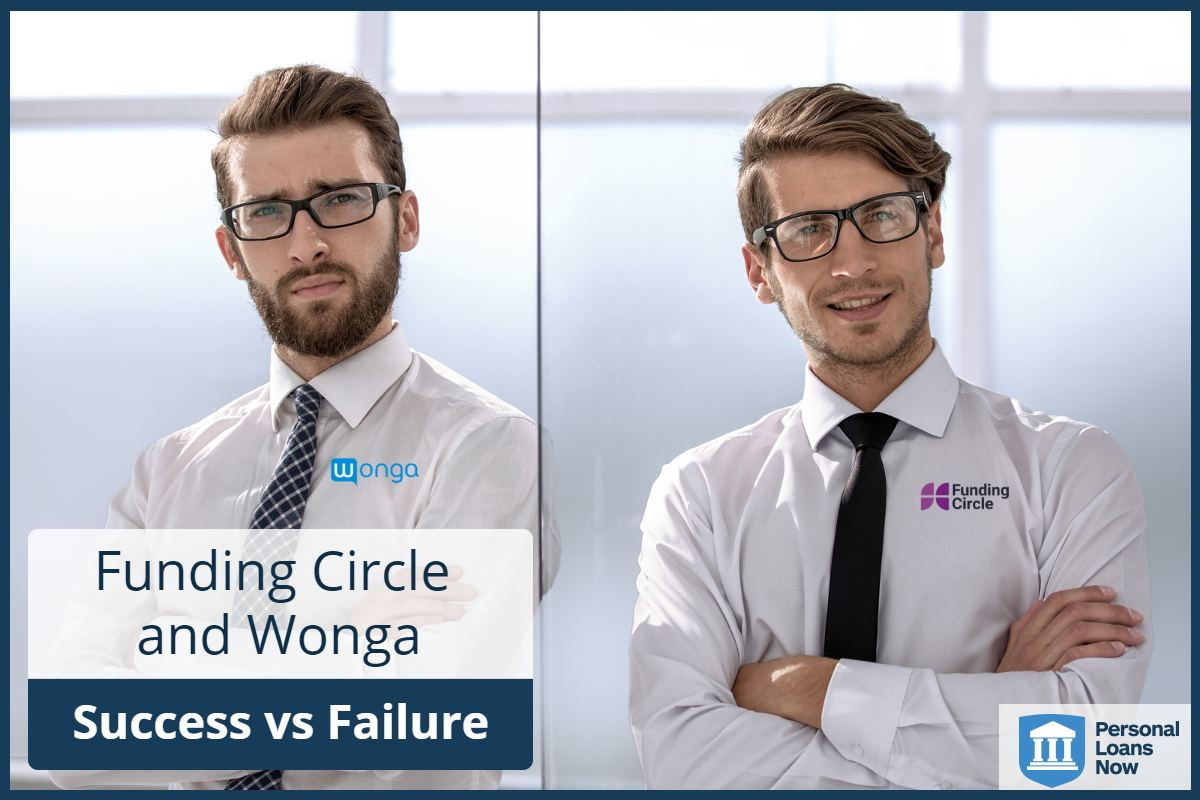 Funding Circle and Wonga, Success vs failure - Personal Loans Now