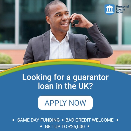 Apply now for a guarantor loan from a responsible lender - Personal Loans Now