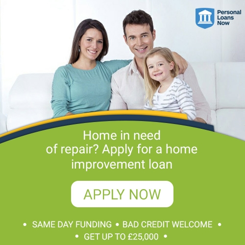 Apply now for a home improvement loan from a responsible lender - Personal Loans Now