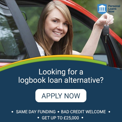 Apply now for a logbook loan from a responsible lender - Personal Loans Now