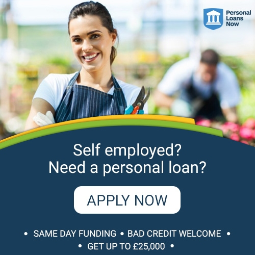 Loans for self employed people - Personal Loans Now